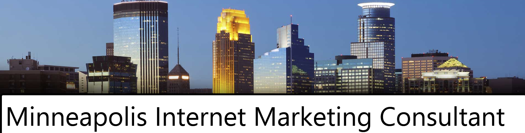 Minneapolis Internet Marketing Consultant